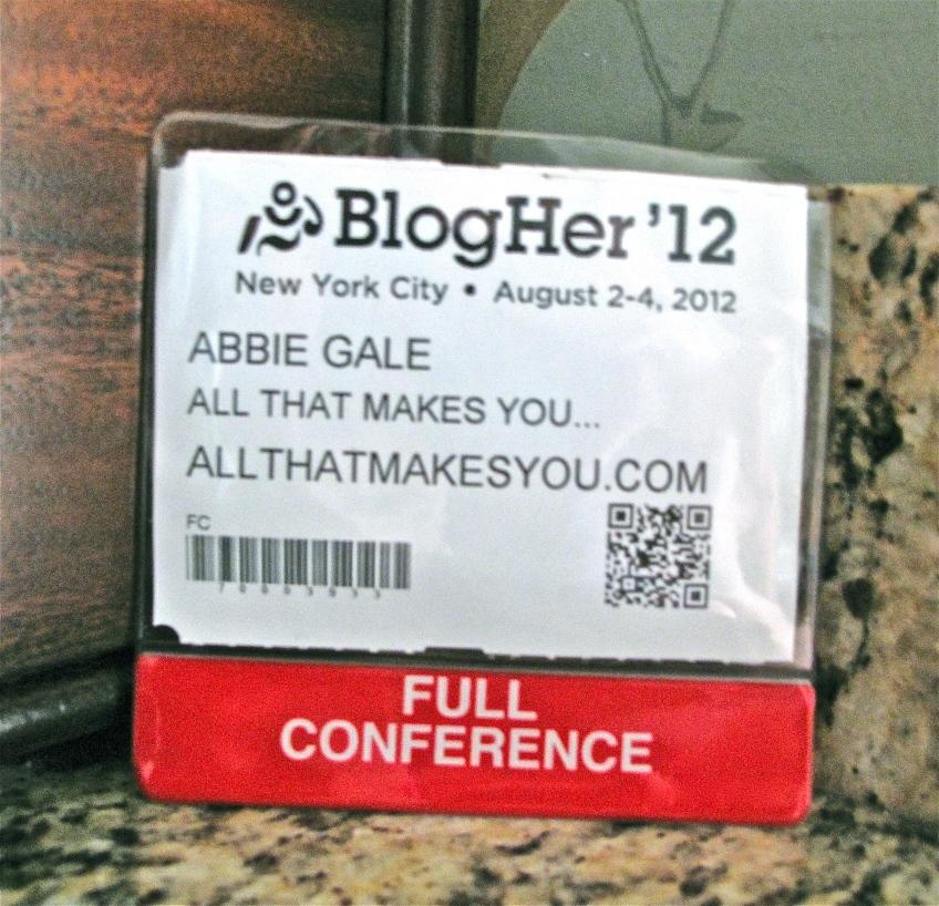 BlogHer Badge 2012
